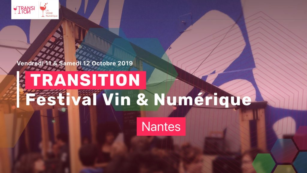 Affiche festival Transition La Vigne Numérique